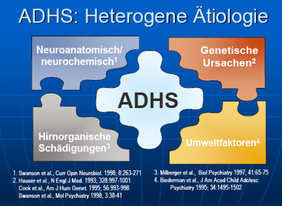 ADHS: Heterogene �tiologie